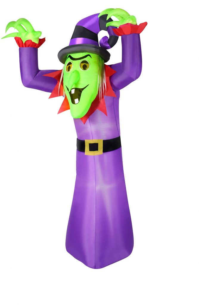 Animated Inflatable Witch