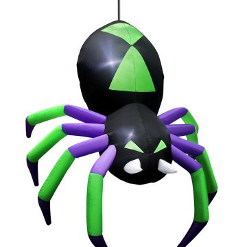 Animated Hanging Inflatable Spider